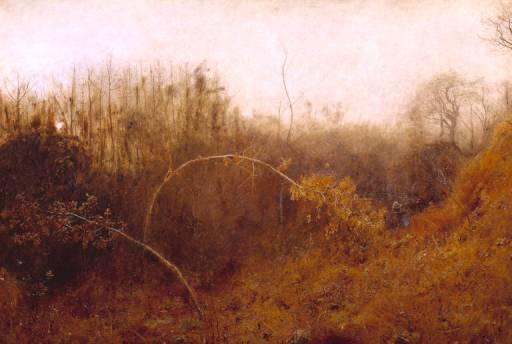 The Winter Sun by John William North ARA RWS (1891)